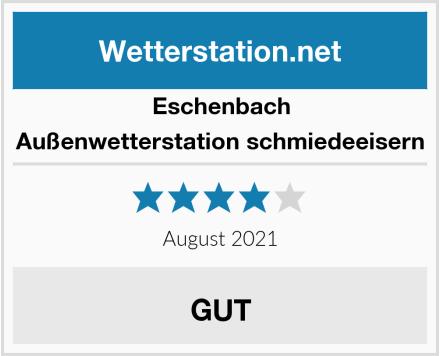 Eschenbach Außenwetterstation schmiedeeisern Test