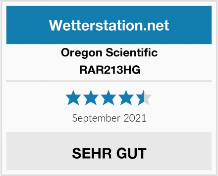 Oregon Scientific RAR213HG Test