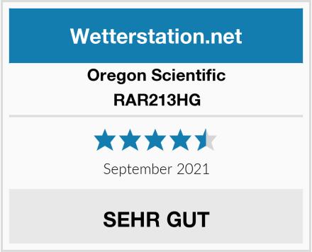 Oregon Scientific RAR213HG Test