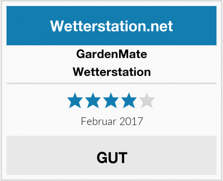 GardenMate Wetterstation Test