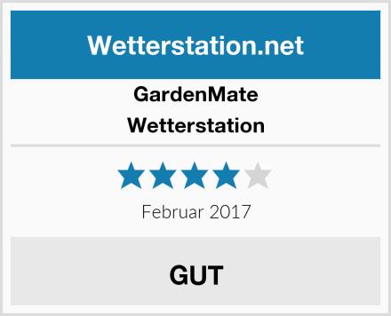 GardenMate Wetterstation Test
