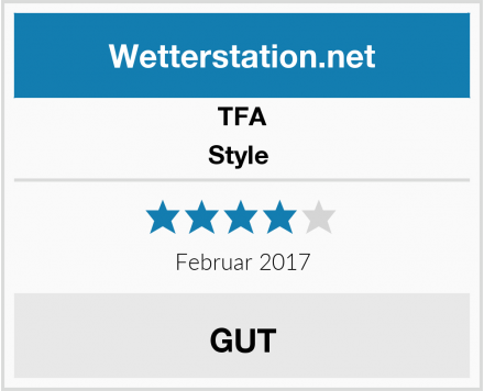 TFA Style  Test