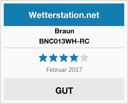 Braun BNC013WH-RC Test
