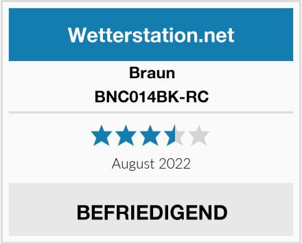 Braun BNC014BK-RC Test