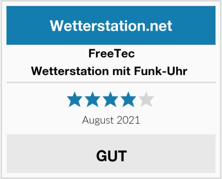 FreeTec Wetterstation mit Funk-Uhr  Test