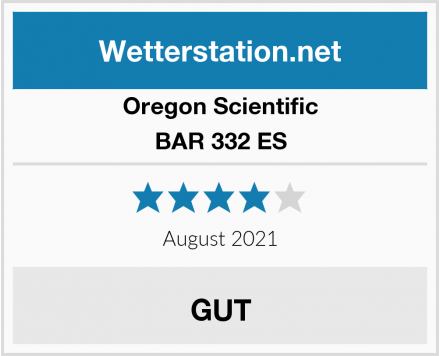 Oregon Scientific BAR 332 ES Test