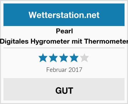 Pearl Digitales Hygrometer mit Thermometer Test