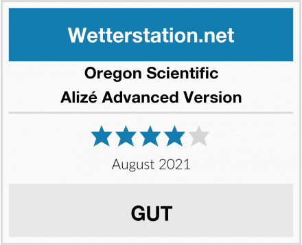 Oregon Scientific Alizé Advanced Version Test
