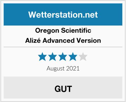 Oregon Scientific Alizé Advanced Version Test