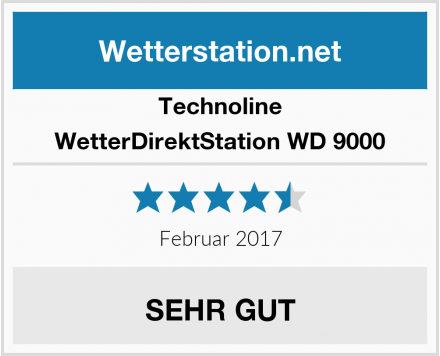 Technoline WetterDirektStation WD 9000 Test