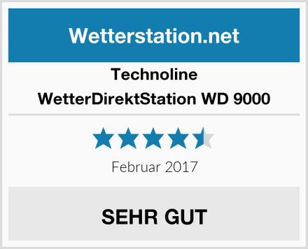 Technoline WetterDirektStation WD 9000 Test