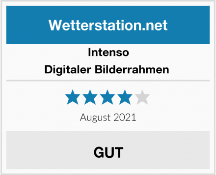 Intenso Digitaler Bilderrahmen  Test