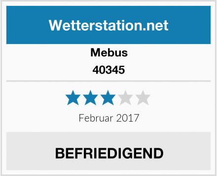Mebus 40345 Test
