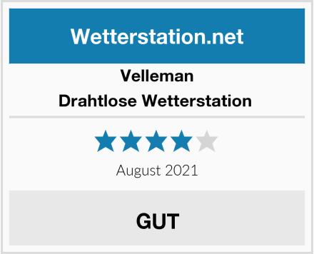 Velleman Drahtlose Wetterstation  Test