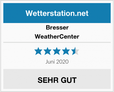 Bresser WeatherCenter Test