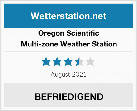 Oregon Scientific Multi-zone Weather Station Test