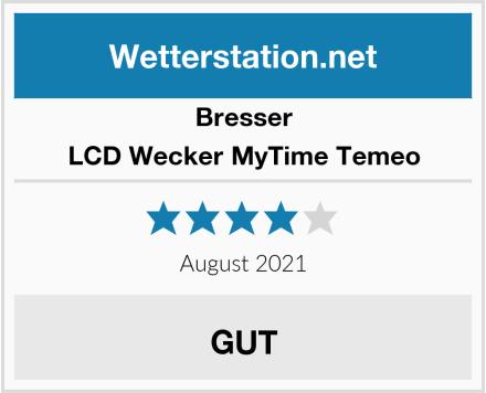 Bresser LCD Wecker MyTime Temeo Test