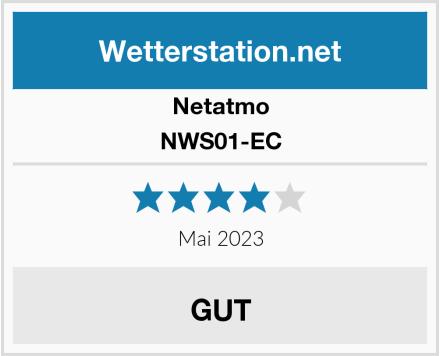 Netatmo NWS01-EC Test