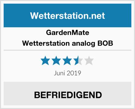 GardenMate Wetterstation analog BOB Test