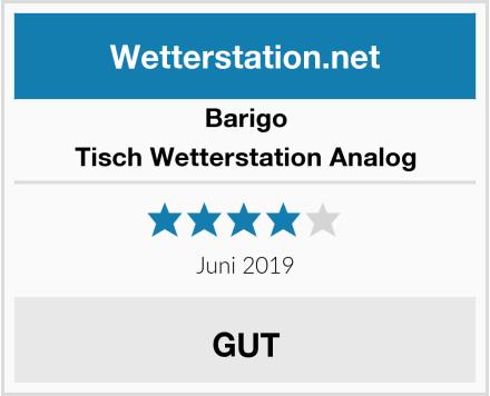 Barigo Tisch Wetterstation Analog Test