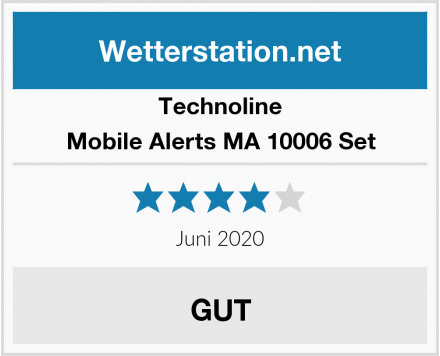 Technoline Mobile Alerts MA 10006 Set Test