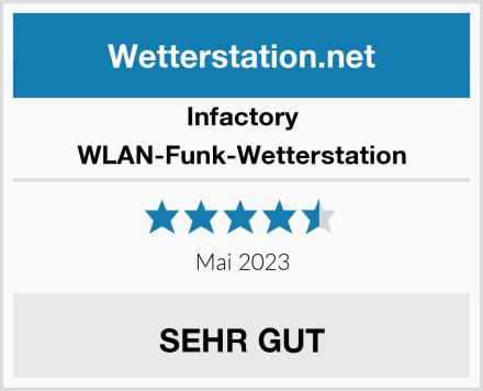 Infactory WLAN-Funk-Wetterstation Test
