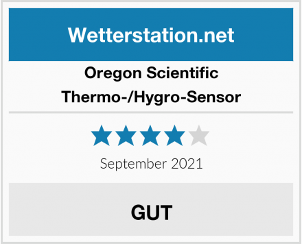 Oregon Scientific Thermo-/Hygro-Sensor Test
