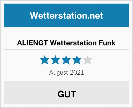 ALIENGT Wetterstation Funk Test