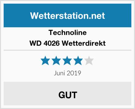 Technoline WD 4026 Wetterdirekt Test