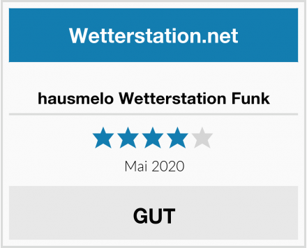 No Name hausmelo Wetterstation Funk Test