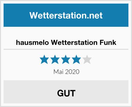 hausmelo Wetterstation Funk Test