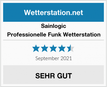 Sainlogic Professionelle Funk Wetterstation Test