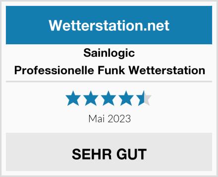 Sainlogic Professionelle Funk Wetterstation Test