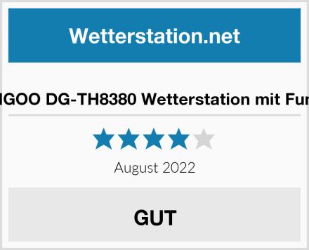 DIGOO DG-TH8380 Wetterstation mit Funk Test