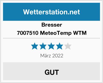 Bresser Wetterstation MeteoTemp WTM Test