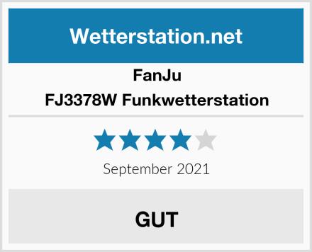 FanJu FJ3378W Funkwetterstation Test