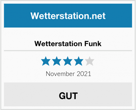 Wetterstation Funk Test