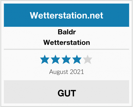 Baldr Wetterstation Test