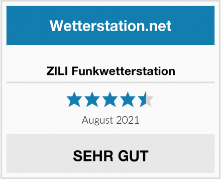 ZILI Funkwetterstation Test