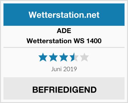 ADE Wetterstation WS 1400 Test