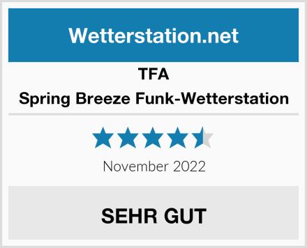 TFA Spring Breeze Funk-Wetterstation Test