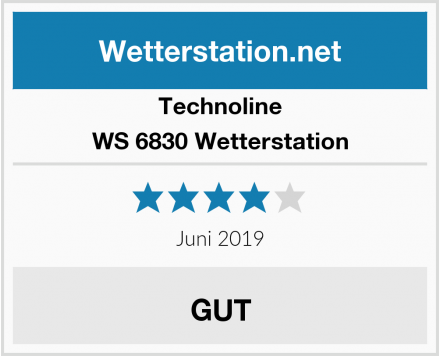 Technoline WS 6830 Wetterstation Test