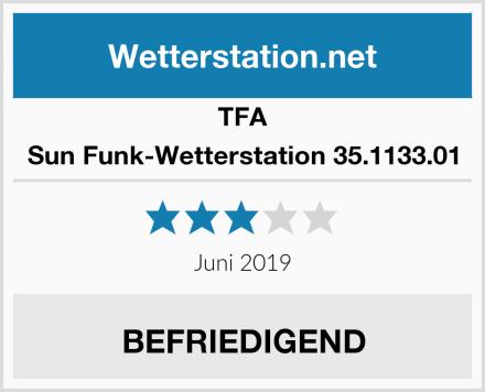TFA Sun Funk-Wetterstation 35.1133.01 Test