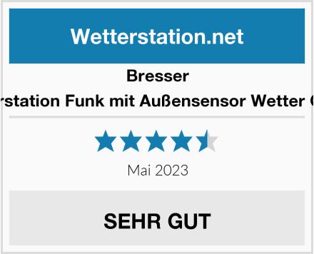 Bresser Wetterstation Funk mit Außensensor Wetter Center Test