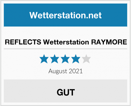 REFLECTS Wetterstation RAYMORE Test