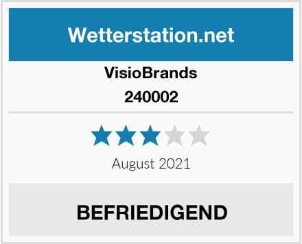 VisioBrands 240002 Test