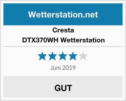 Cresta DTX370WH Wetterstation Test
