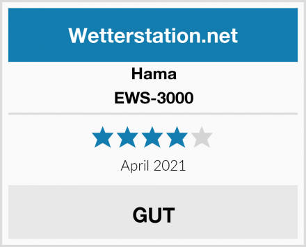Hama EWS-3000 Test