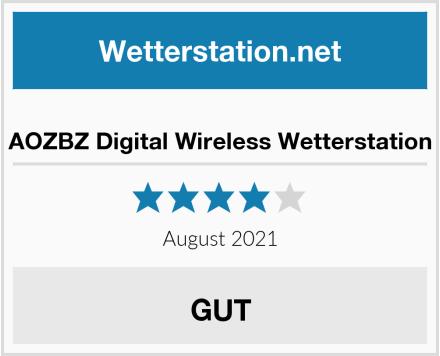 AOZBZ Digital Wireless Wetterstation Test