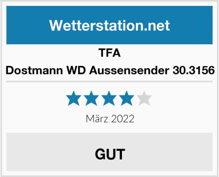 TFA Dostmann WD Aussensender 30.3156 Test